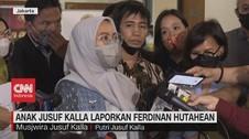 VIDEO: Anak Jusuf Kalla Laporkan Ferdinan Hutahean