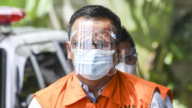 KPK Perpanjang Masa Penahanan Edhy Prabowo 30 Hari