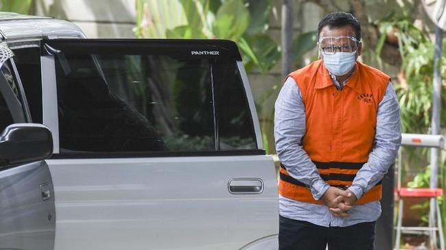 Edhy Prabowo Didakwa Terima Suap Ekspor Benur Rp25,7 M
