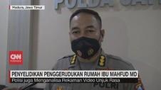 VIDEO: Polisi Selidiki Penggerudukan Rumah Ibu Mahfud MD