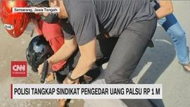 VIDEO: Polisi Tangkap Sindikat Pengedar Uang Palsu Rp 1 M