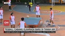 VIDEO: Teqball Cabang Olahraga Baru di Indonesia