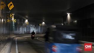 FOTO : Uji Coba Underpass Senen Extension Tahap Dua