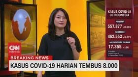 VIDEO: Kasus Covid-19 di Indonesia Meroket: 8.369 Kasus