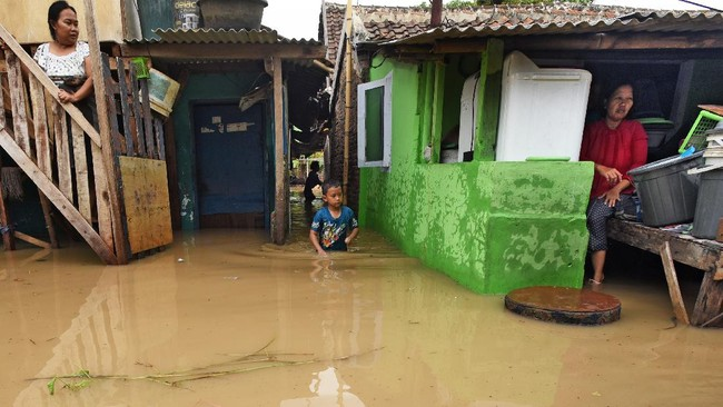 3.571 Rumah Teredam Banjir di Kabupaten Balangan Kalsel