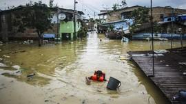 FOTO: Medan dan Deli Serdang Sumut Dikepung Banjir
