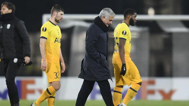 Berita mengenai 5 tim yang bisa dituju Jose Mourinho usai dipecat Tottenham dan cerita terbentuknya European Super League menjadi berita terpopuler.