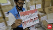 FOTO: Kebut Persiapan Distribusi Logistik Pilwalkot Tangsel