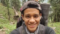 <p>Sebagai anak muda, Mikail ternyata juga suka traveling dan membagikan potretnya di Instagram. (Foto: Instagram @mikailbaswedan)</p>