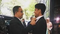 <p>Tak hanya dekat dengan ibunda, Mikail juga dekat dengan ayahnya. (Foto: Instagram @mikailbaswedan)</p>