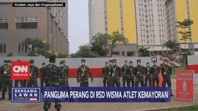 VIDEO: Panglima Perang di RSD Covid-19 Wisma Atlet Kemayoran