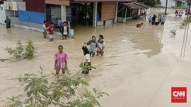 BPBD: 2.773 Rumah di Medan Terendam Banjir, 2 Orang Meninggal