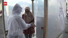 VIDEO: Suhu Badan Diatas 37,5, Mencoblos di Bilik Khusus