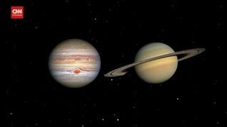 VIDEO: Jupiter-Saturnus akan Sejajar 21 Desember
