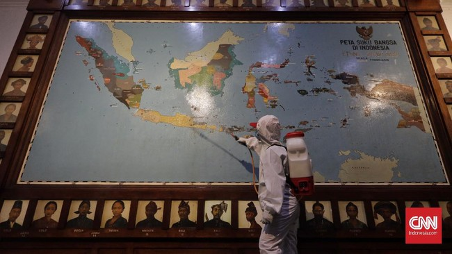 FOTO: Antisipasi Penyebaran Covid-19 di Jakarta
