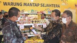 Pensiunan TNI Buka Sembako Toko Bantuan Bank Mantap
