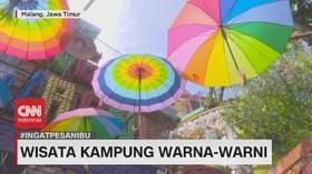 VIDEO: Berwisata Ke Kampung Warna-Warni & Museum Angkut