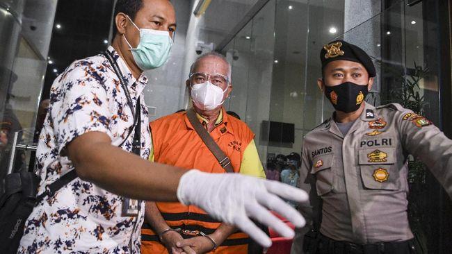 KPK resmi menahan Bupati Banggai Laut, Sulawesi Tengah, Wenny Bukamo selama 20 hari di Rumah Tahanan Negara (Rutan) Polda Metro Jaya.