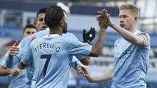 Hasil Liga Inggris: Man City Kalahkan Fulham
