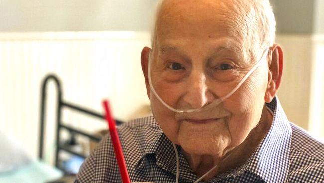 Seorang veteran Perang Dunia II asal AS, Major Wooten, dinyatakan sembuh dari Covid-19 pada awal pekan ini, tepat dua hari menjelang ulang tahunnya yang ke-104.