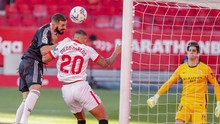 Sevilla vs Real Madrid Imbang di Babak Pertama
