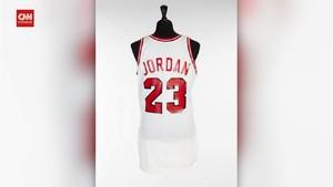 VIDEO: Jersey Michael Jordan Dilelang, Tembus Rp4,5 Miliar
