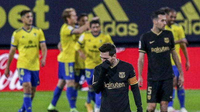 Megabintang Lionel Messi saat ini memiliki empat pilihan setelah kontrak di Barcelona habis pada akhir musim nanti.