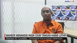 VIDEO: Maheer Menangis Ingin Cium Tangan Habib Luthfi