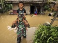 FOTO: Air Bah Banjiri Kawasan Aceh Timur dan Aceh Utara