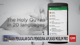 VIDEO: Dugaan Penjualan Data Pengguna Aplikasi Muslim Pro