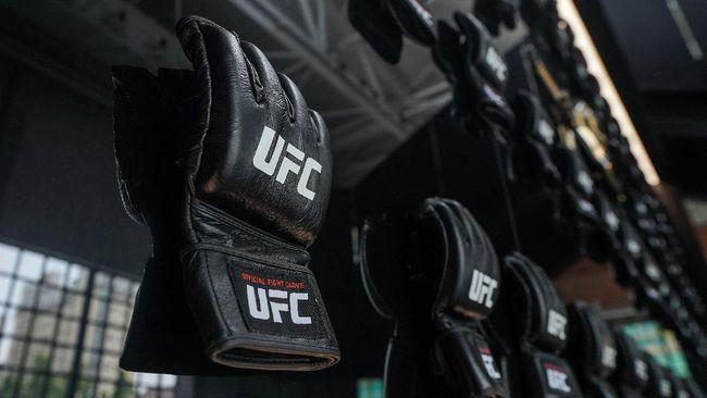 Jared Gooden meraih kemenangan KO dengan brutal atas Niklas Stolze secara brutal di UFC Fight Nigth di UFC Apex, Minggu (1/8).