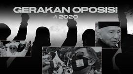 INFOGRAFIS: Geliat Gerakan Oposisi 2020