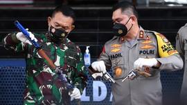 Resmi Jadi Pangkostrad, Dudung Pamit ke Polda Metro Jaya