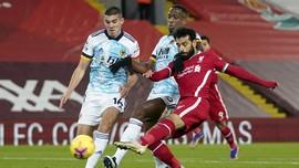 Hasil Liga Inggris: Liverpool Cukur Wolverhampton 4-0