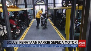 VIDEO: Soul Parking, Solusi Penataan Parkir Sepeda Motor