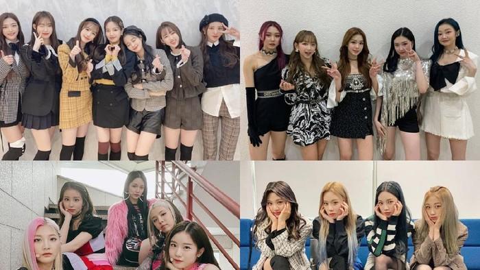 5 Rookie Girl Grup Paling Bersinar di Tahun 2020