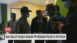 VIDEO: Adu Mulut Kuasa Hukum FPI dengan Polisi di RS Polri
