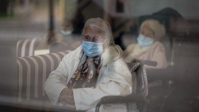 Jumlah kasus infeksi virus corona (Covid-19) di Spanyol sudah melewati dua juta orang.