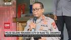 VIDEO: Polisi Selidiki Rekaman CCTV di Ruas Tol Cikampek