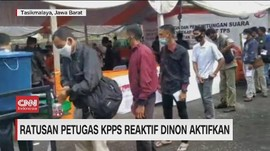 VIDEO: Ratusan Petugas KPPS Reaktif Dinonaktifkan