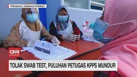 VIDEO: Tolak Swab Test, Puluhan Petugas KPPS Mundur