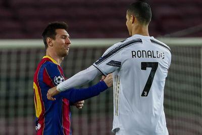 Tidak Disangka, 'Duet' Mematikan Cristiano Ronaldo dan Lionel Messi