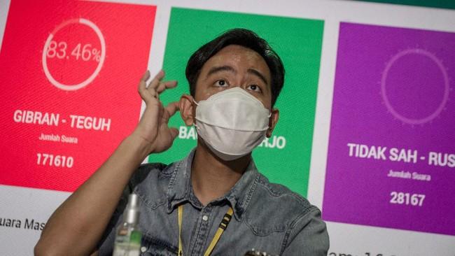 Gibran Habiskan Rp3,2 Miliar untuk Kampanye Pilkada Solo