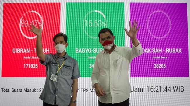 Wali Kota Solo Gibran Rakabuming Raka 'menjual' pelbagai janji Pilkada 2020 mulai dari menggenjot kebangkitan ekonomi sampai bicara penyalahgunaan narkoba.