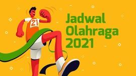 INFOGRAFIS: Jadwal Penting Ajang Olahraga 2021