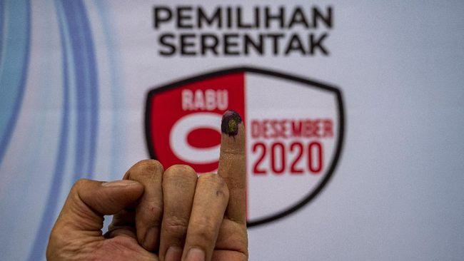 Pasangan calon nomor urut 03, Eva Dwiana-Deddy Amarullah juga unggul dari perhitungan e-rakap KPU Bandar Lampung dengan perolehan 56,79 persen.