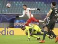 FOTO: Man United Tersingkir Usai Ditekuk Leipzig