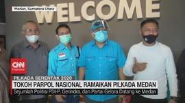 VIDEO: Tokoh Parpol Nasional Ramaikan Pilkada Medan