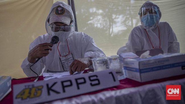 KPU mencatat 79 ribu petugas KPPS reaktif covid-19 mendekati hari pemungutan suara Pilkada Serentak 2020, dengan 4.824 diganti.
