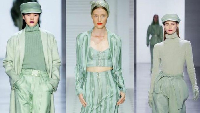 Jadi Tren Warna 2021 Versi Pantone, Ini Referensi Fashion Look dengan Warna Hijau Mint yang Segar